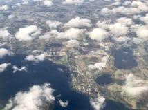 vue aérienne de la Floride centrale Photo libre de droits