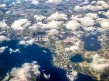 vue aérienne de la Floride centrale Photographie stock