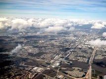 vue aérienne de la Floride centrale Image stock