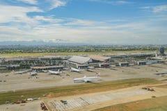 Vue aérienne de la vue intérieure de Taïwan Taoyuan Internati Image libre de droits