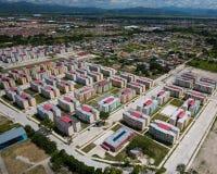 Vue aérienne de la ville photographie stock libre de droits