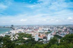 Vue aérienne de la ville Image stock