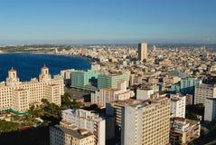Vue aérienne de la ville de La Havane à La Havane, Cuba photo libre de droits