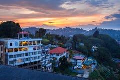 Vue aérienne de lac kandy Images stock