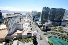 Vue aérienne de Las Vegas Photo stock