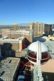 Vue aérienne de Las Vegas, Las Vegas, nanovolt images libres de droits