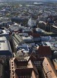 Vue aérienne de Leipzig II Photo stock