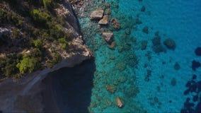 Vue aérienne de Leucade clips vidéos