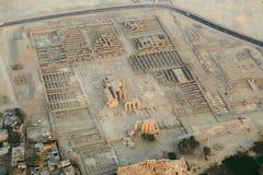 Vue aérienne de Louxor en Egypte photo stock