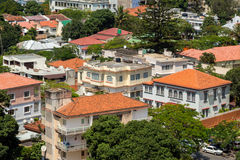 Vue aérienne de Maputo du centre Photo libre de droits