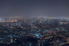 Vue aérienne de Marseille dans les Frances Photos libres de droits
