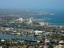 Vue aérienne de Melbourne, Australie Images libres de droits