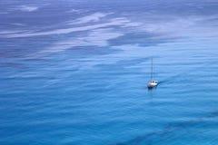 Vue aérienne de mer ionienne Images stock