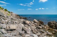 Vue aérienne de mer, vue supérieure, fond étonnant de nature La couleur o photos libres de droits