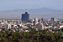 Vue aérienne de Mexico - le Mexique photos libres de droits