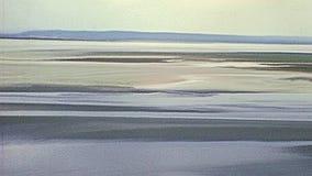 Vue aérienne de Mont Saint-Michel clips vidéos
