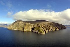 Vue aérienne de montagne de cap Photo stock