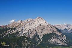 Vue aérienne de montagne de cascade Photo stock