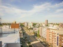 Vue aérienne de Montevideo Image libre de droits