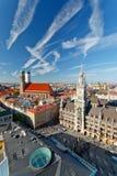 Vue aérienne de Munchen Image stock