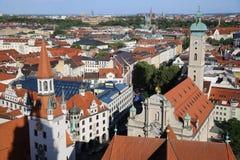 Vue aérienne de Munich Photographie stock