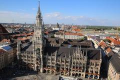 Vue aérienne de Munich Photos libres de droits