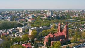 Vue aérienne de Panevezys