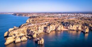Vue aérienne de piedade du DA de ponta Image stock