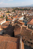 Vue aérienne de Pistoie Toscane Italie photo stock