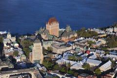 Vue aérienne de Québec Image stock