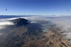 Vue aérienne de réservoir photos stock