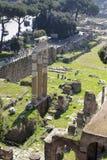 Vue aérienne de Rome antique, Italie Image libre de droits