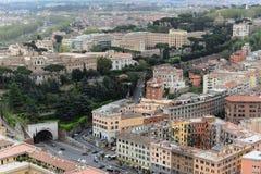 Vue aérienne de Rome, Italie Photos libres de droits