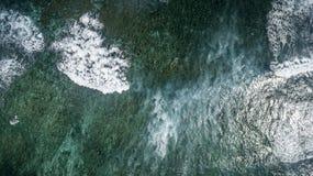 Vue aérienne de saint Martin Beach Images libres de droits