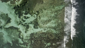 Vue aérienne de saint Martin Beach Image libre de droits