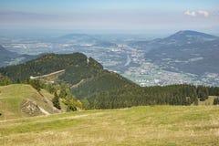 vue aérienne de Salzbourg Photo stock