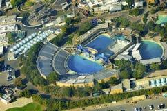 Vue aérienne de Seaworld, San Diego Photographie stock libre de droits