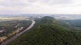 Vue aérienne de Shihan Kushtau Image libre de droits