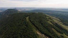 Vue aérienne de Shihan Kushtau Images stock