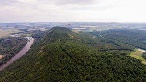 Vue aérienne de Shihan Kushtau Photos stock