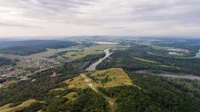 Vue aérienne de Shihan Kushtau Photographie stock