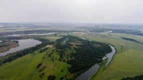 Vue aérienne de Shihan Yuraktau Photo libre de droits