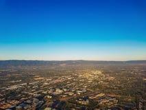 Vue aérienne de Silicon Valley Photos libres de droits