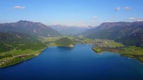 Vue aérienne de St Wolfgang clips vidéos