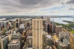 Vue aérienne de Sydney - Australie Photo stock