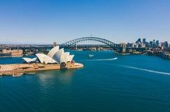 Vue aérienne de Sydney City images stock