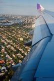 Vue aérienne de Sydney Harbour et des bordures Photographie stock libre de droits