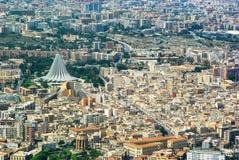 Vue aérienne de Syracuse Sicile Images stock