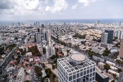 Vue aérienne de téléphone Aviv-Yafo, Israël photo stock