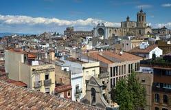 Vue aérienne de Tarragona Image stock